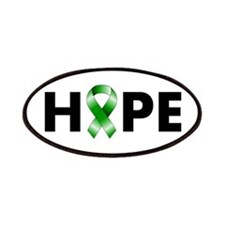 Green Ribbon Hope Patches