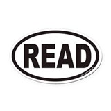 Read Oval Car Magnets
