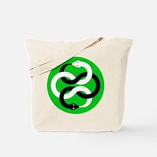 Double Oroborous (Green) Tote Bag