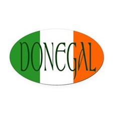 County Donegal Oval Car Magnet