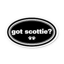 Got Scottie? Oval Car Magnet