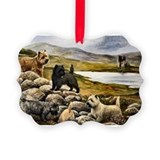 Cairn terrier Picture Frame Ornaments
