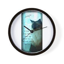 DollyCat Beauty Poetry Verse - Ragdoll Cat Wall Cl