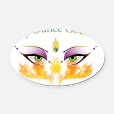 Belly Dance Goddess: Shimmy Chic on Fire Oval Car