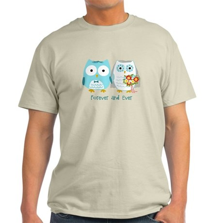 Owls Wedding Light T-Shirt