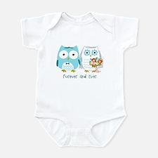 Owls Wedding Infant Bodysuit