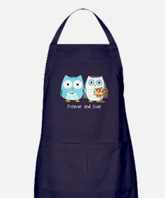 Owls Wedding Apron (dark)
