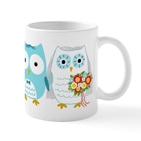 Owls Wedding Mug