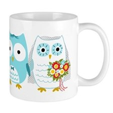 Owls Wedding Coffee Mug
