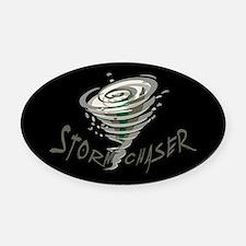 Storm Chaser 2 Oval Car Magnet