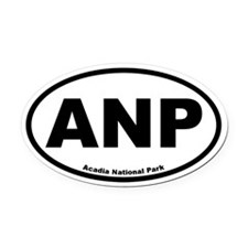 Acadia National Park Oval Car Magnet
