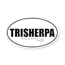TriSherpa Oval Car Magnet