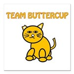 Team Buttercup Square Car Magnet 3