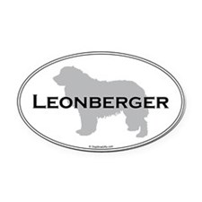 Leonberger Oval Oval Car Magnet