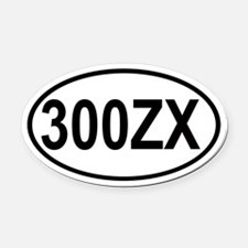 300ZX Oval Car Magnet