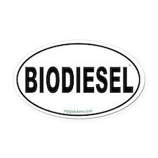 Biodiesel Euro Oval Car Magnet