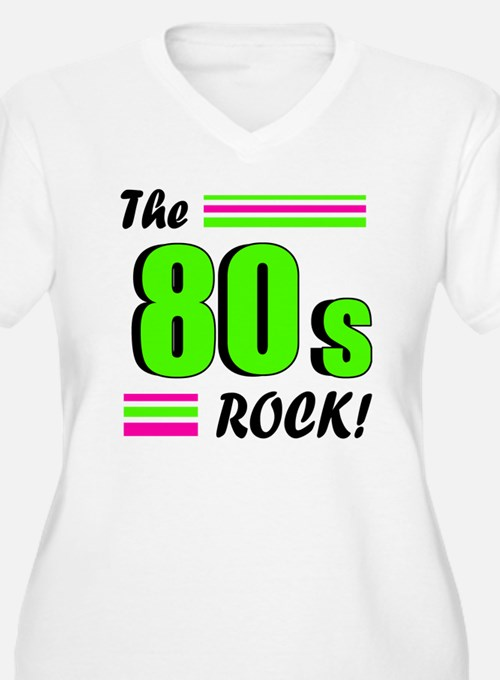 the 80s rock 2 Plus Size T-Shirt