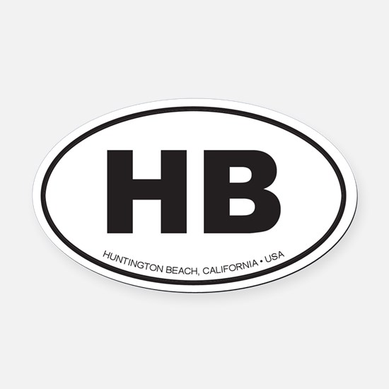 Oval Volleyball Car Magnets Cafepress