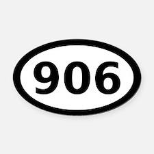 906 Oval Car Magnet