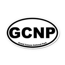 Grand Canyon National Park Oval Car Magnet