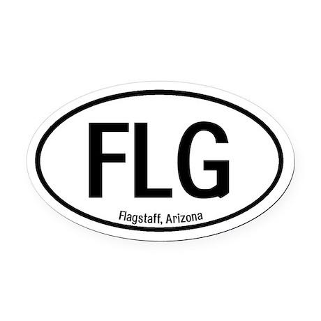 Flagstaff, Arizona Oval Car Magnet