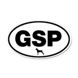 Pointer Oval Car Magnets