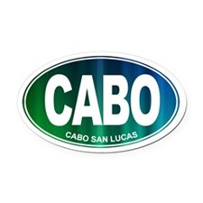 Cabo San Lucas - Oval Car Magnet