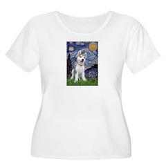 Starry-Siberian pup T-Shirt