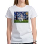 Starry-Siberian pup Women's T-Shirt