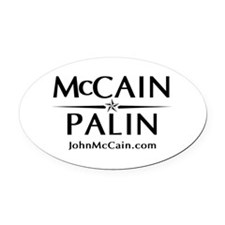 McCain / Palin Official Logo Oval Car Magnet