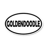 Goldendoodle Car Magnets