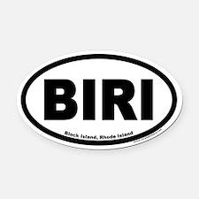 Block Island Rhode Island BIRI Euro Oval Car Magne