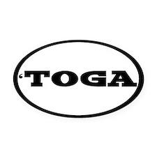 Saratoga Oval Car Magnet Oval Car Magnet