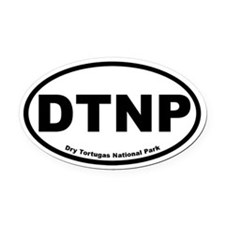 Dry Tortugas National Park Oval Car Magnet