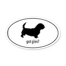Got Glen? Oval Car Magnet