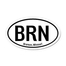 Branson, Missouri Oval Car Magnet