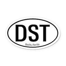 Destin, Florida Oval Car Magnet