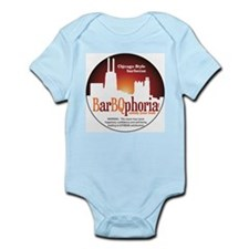 barBQphoriaROUND2.png Infant Bodysuit
