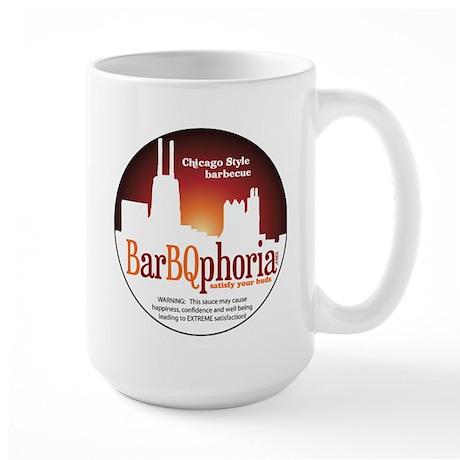 barBQphoriaROUND2.png Large Mug