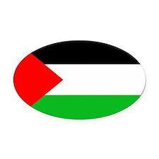 Palestine - Oval Car Magnet