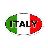 Italian Oval Car Magnets
