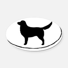 Nova Scotia Duck Tolling Retriever Oval Car Magnet