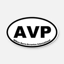 Wilkes Barre-Scranton International Oval Car Magne
