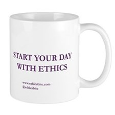 Start Your Day With Ethics (Purple Letters)