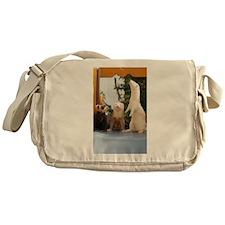 Adorable Trio Messenger Bag