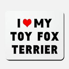 LUV MY TOT FOX TERRIER Mousepad