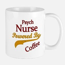 Psych Nurse Powered By Coffee Mugs