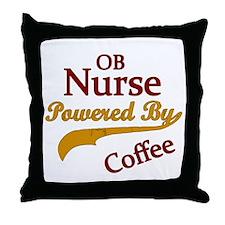 Unique Ob nurse Throw Pillow