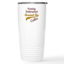 Funny Nursing instructor Travel Mug