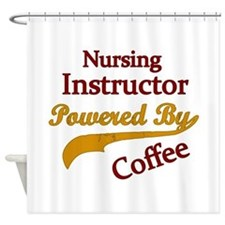 Nursing instructor Shower Curtain